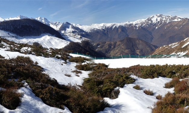 X-C Skiing take 2 (Val D'Azun)