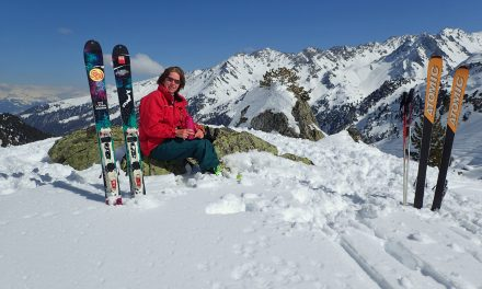 Snow day – try out new touring skis 8/02