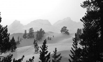 Refuge Wallon ski tour