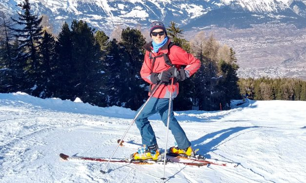 First ski day 2018