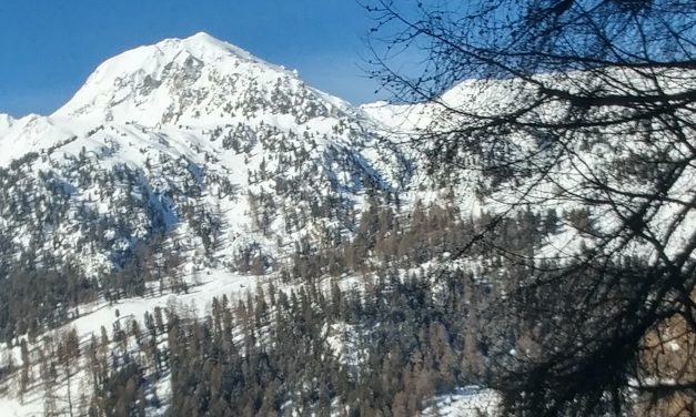 Ski tour to Combatseline