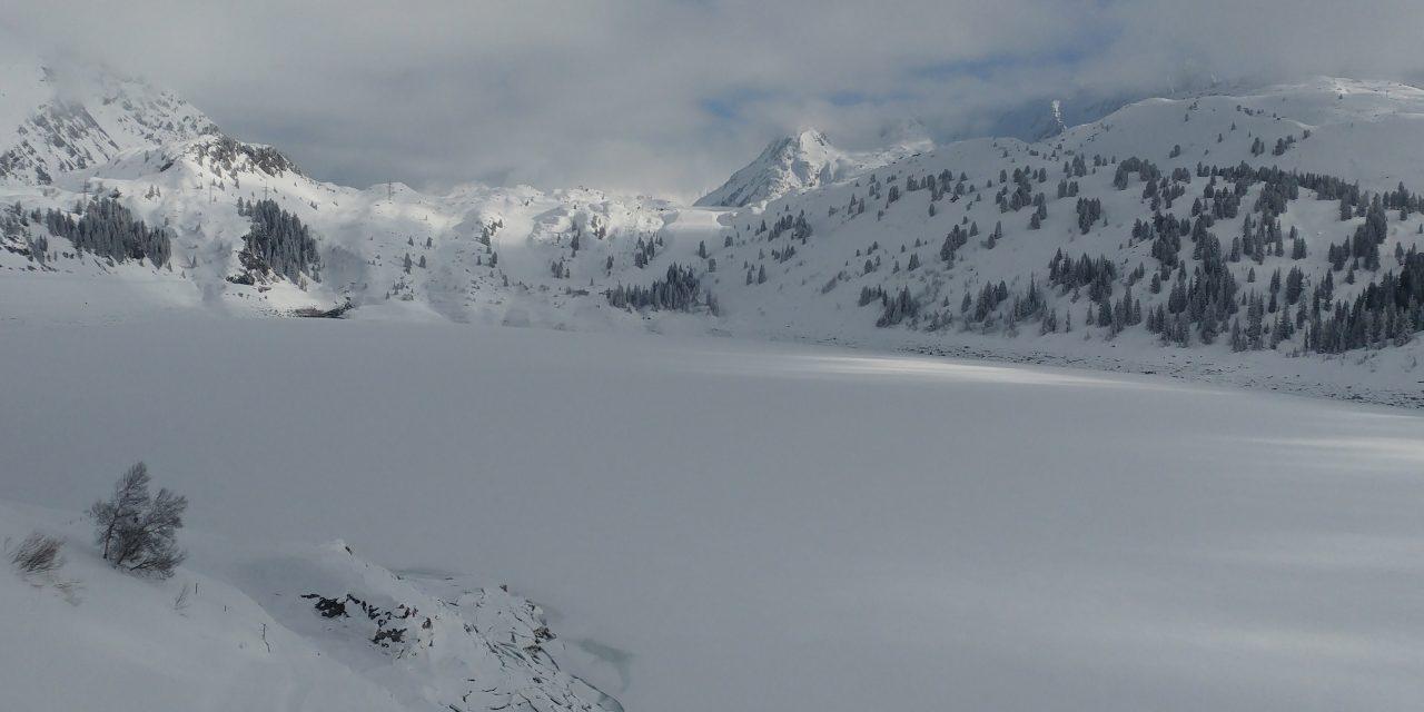 Winter hike Galtür to Kopf-Stausse