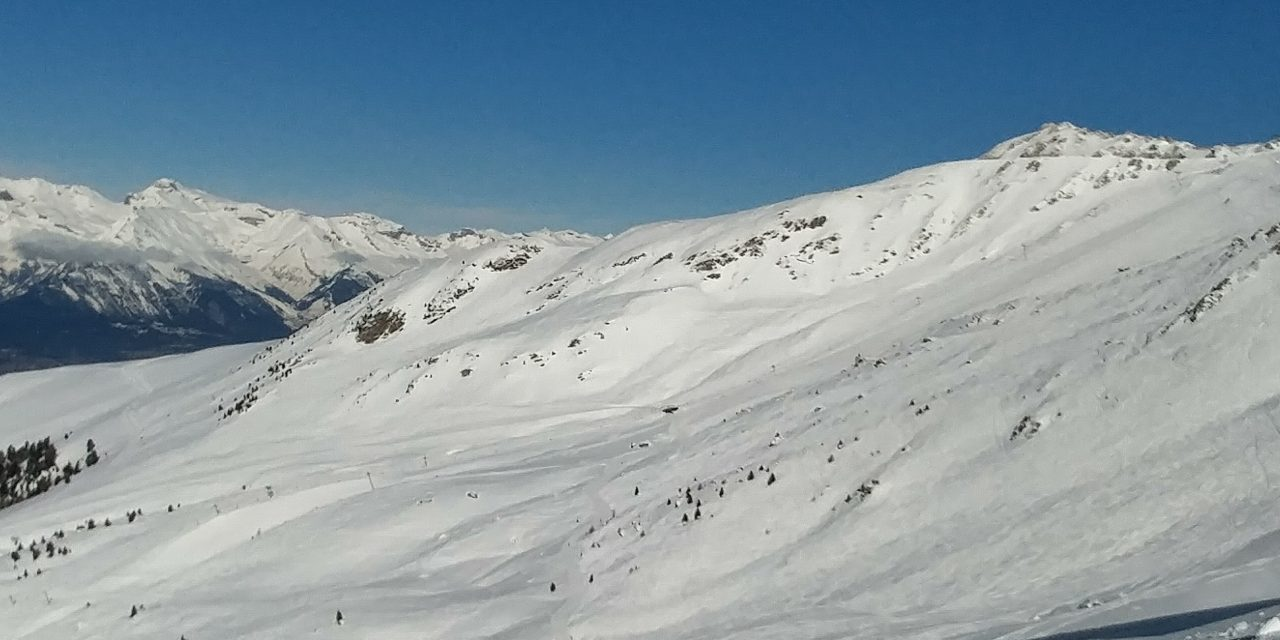 Fresh tracks on Grepon